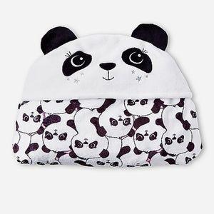 Panda Blanket with Hoodie ( $40 minimum purchase.)